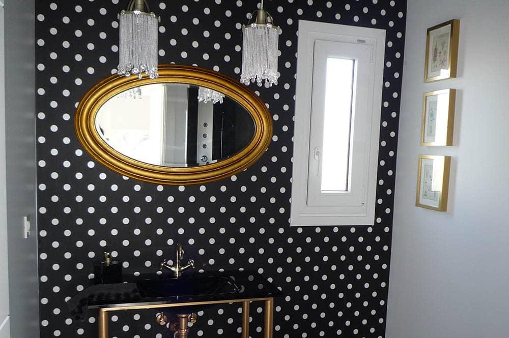 Baño - Casa prefabricada Vanguardista