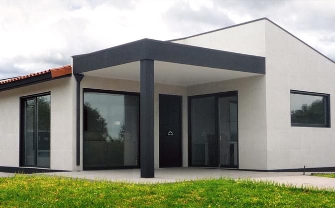Casa prefabricada estándar