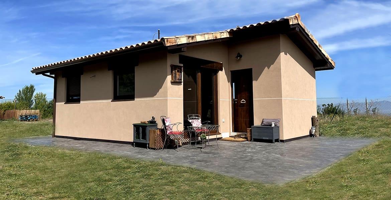 Casa prefabricada 40 m2