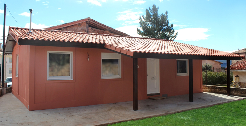 Casa prefabricada 70 m2
