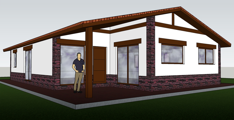 Casa prefabricada 140 m2